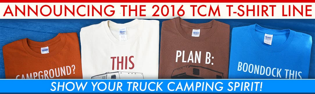 Truck Camper Magazine T-Shirts