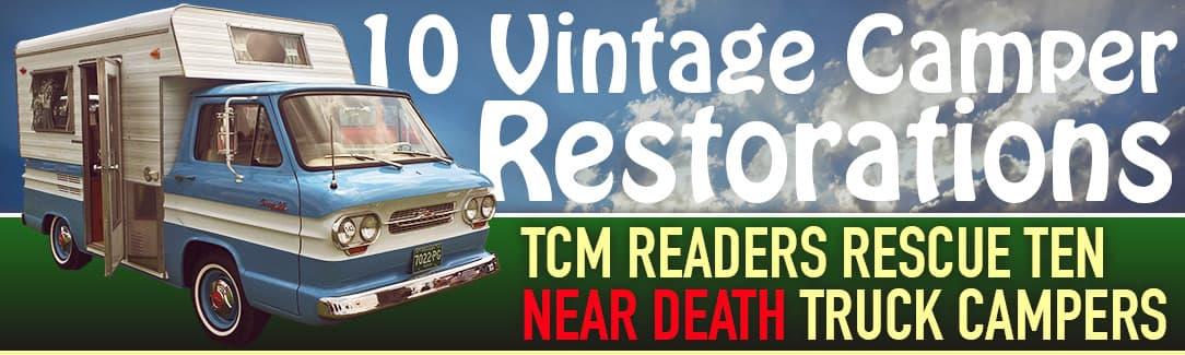 10 Vintage Camper Restorations - Truck Camper Magazine