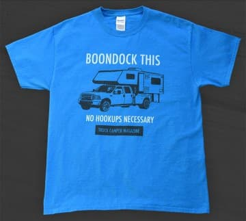 Truck Campers Boondock T-Shirts
