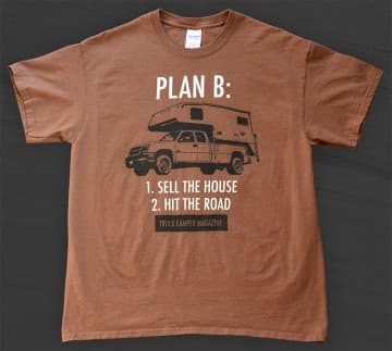 Truck Camper T-Shirts Plan B