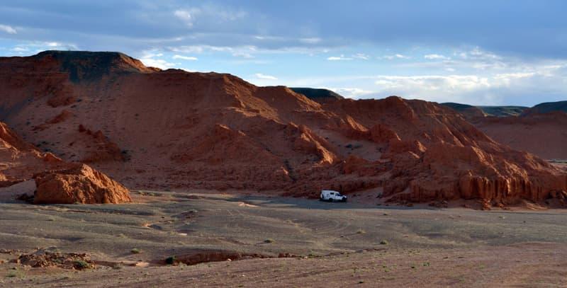 Truck Camper in Mongolia