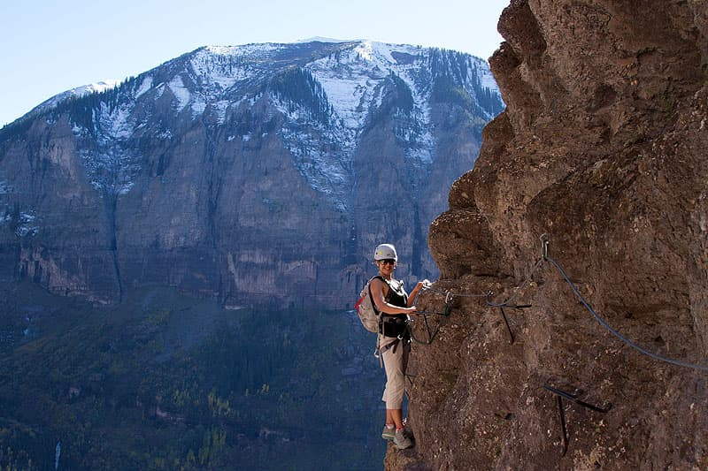 Via Ferrata in Telluride, Colorado