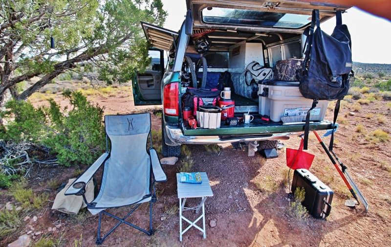 Truck Topper as a camper