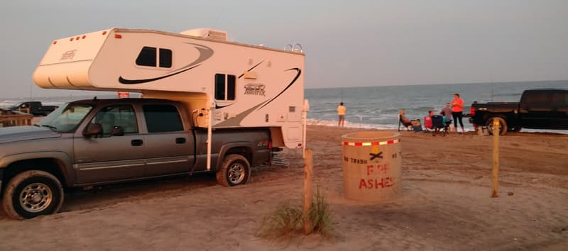 Truck Camping Carolina Beach
