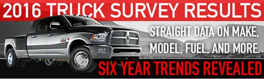 truck survey results 2016