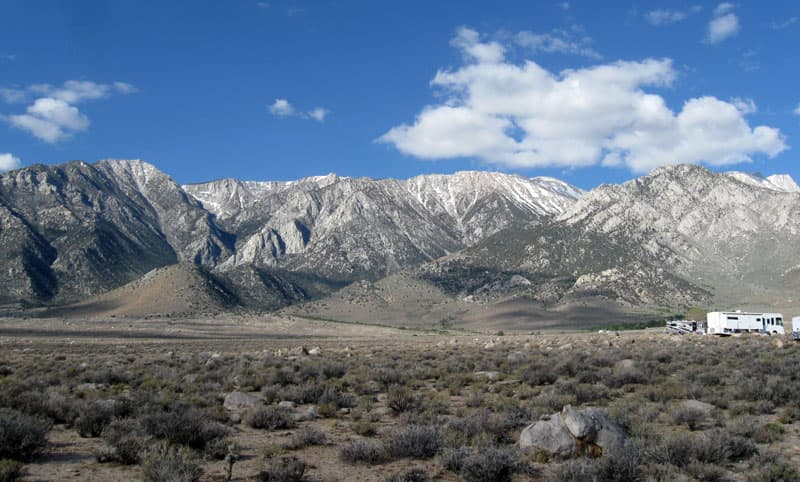 Tuttle Creek Campground, Lone Pine, California