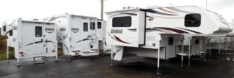 Lance Truck Camper Dealership, U-Neek RV in Washington