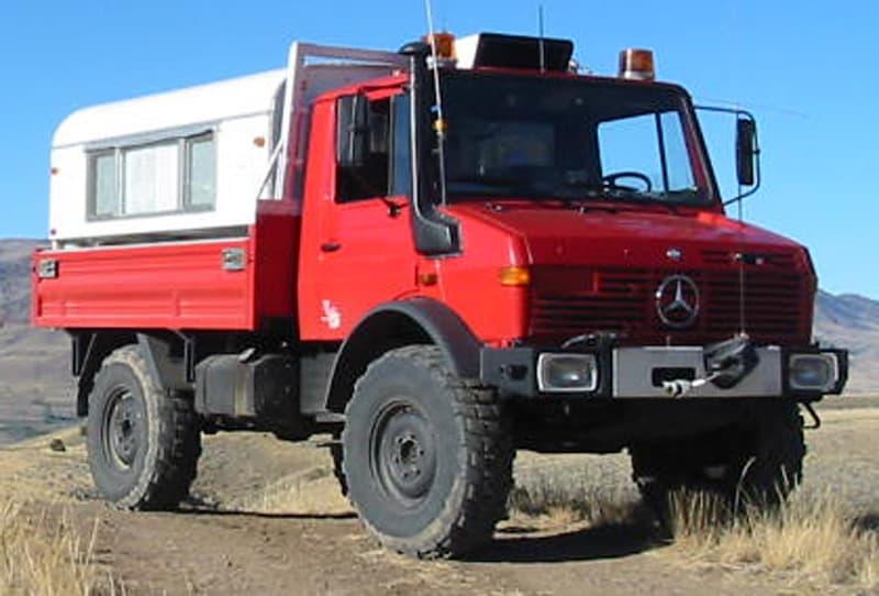 Unimog Truck Camper Overland Vehicle