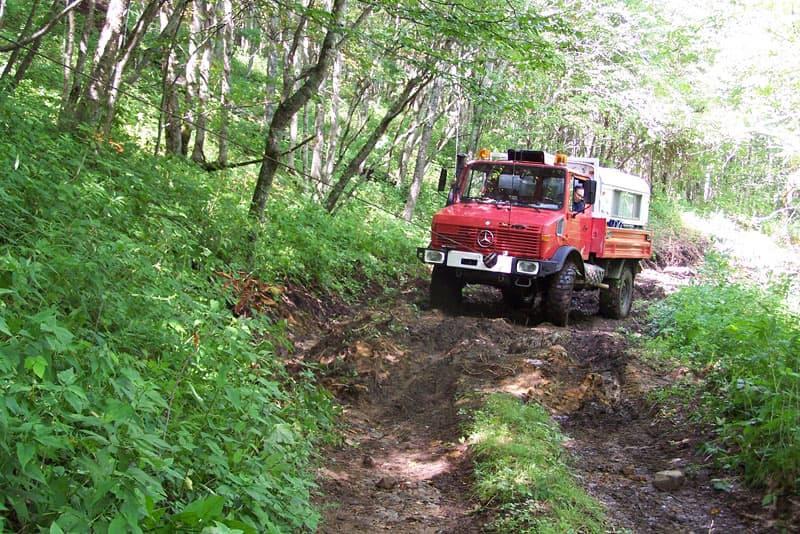 Unimog Truck Camper Wilderness