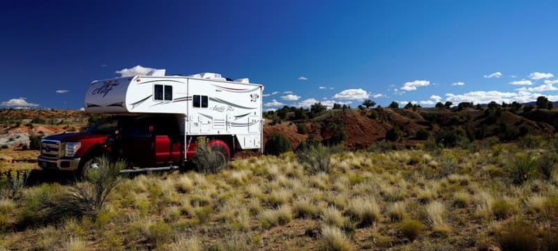 Camping in Escalante, Utah