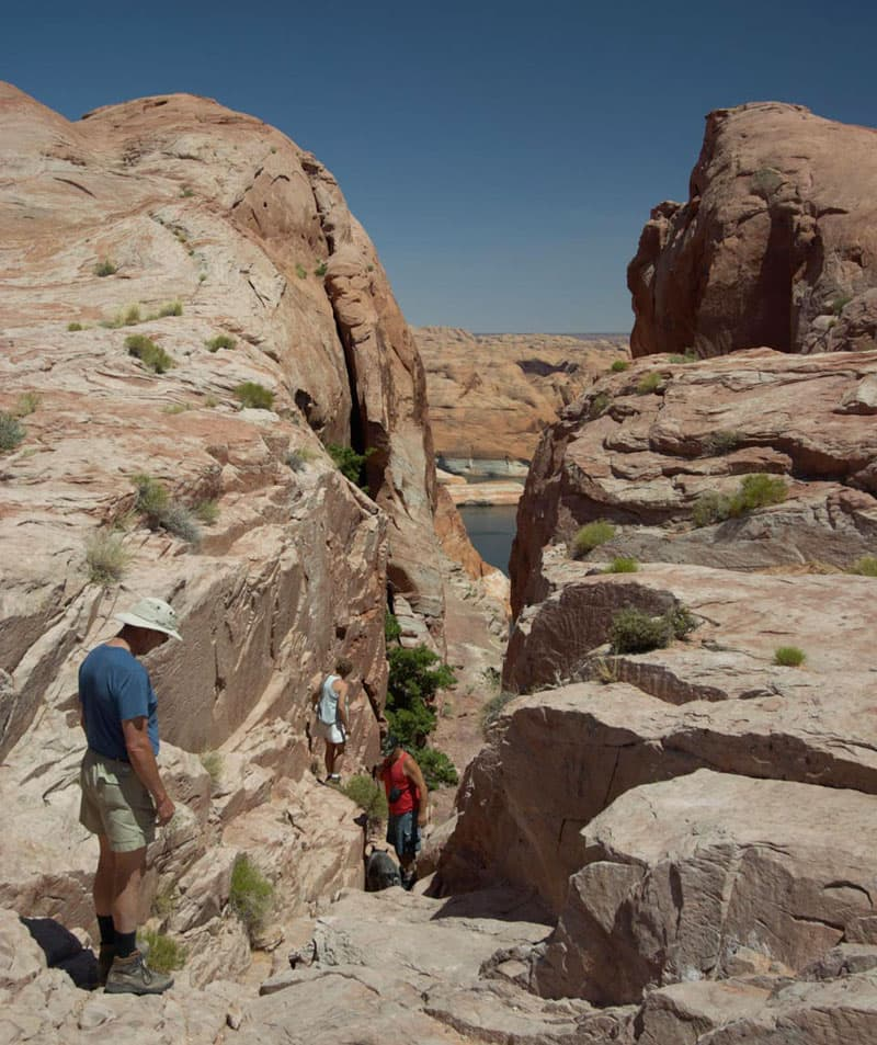 The Hole-in-the-Rock Utah