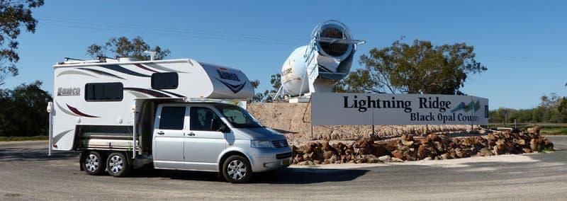 Lightening Ridge, Black Opal Country, Australia
