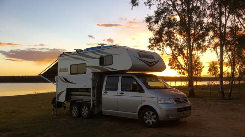 Bundoora Dam, Queensland, Australia
