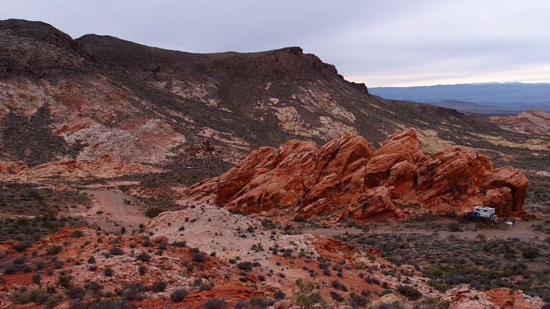 Valley of Fire State Park in Overton, Nevada