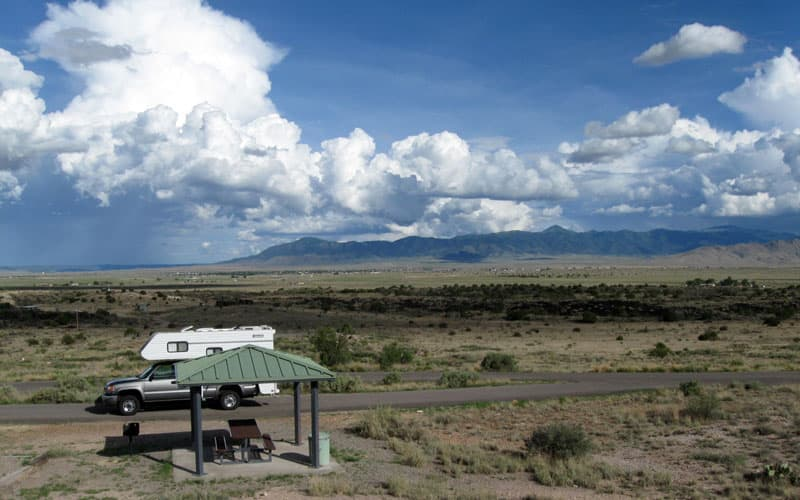 Valley of Fires Campground, New Mexico