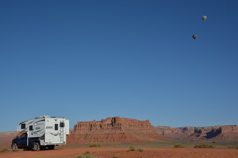 Valley of the Gods, free camping on BLM