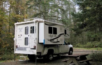 Vancouver Island Camping Spot