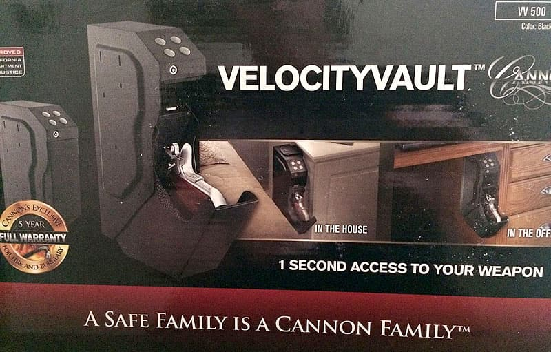 Velocity Vault in RV or camper