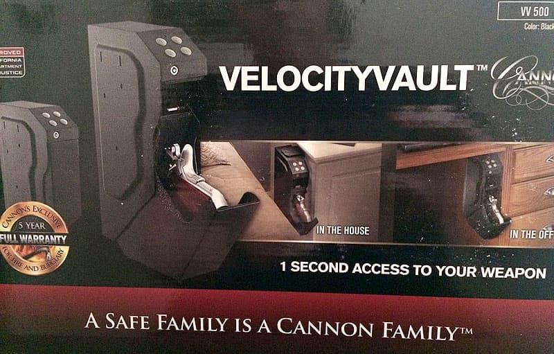 Velocity Vault in RV or camper