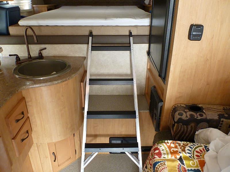 Step Ladder Adventurer Camper