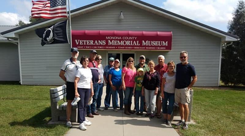 Veterans Memorial Iowa