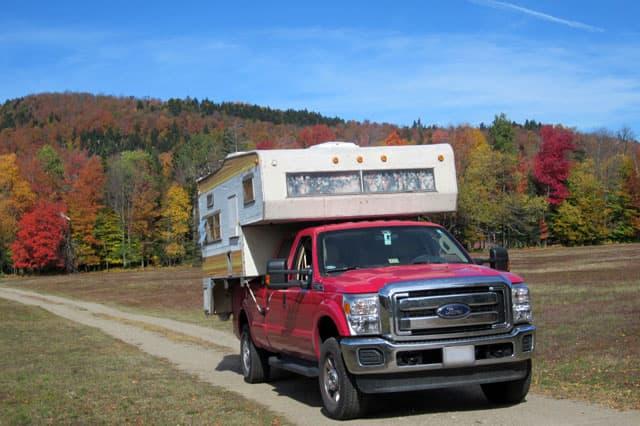 Vintage Truck Camper 98