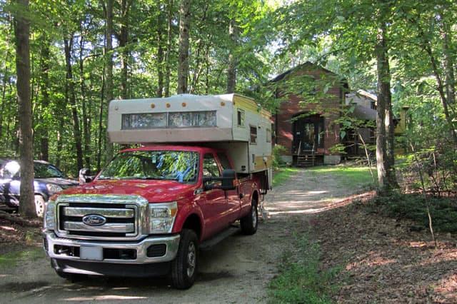 Vintage Truck Camper 81