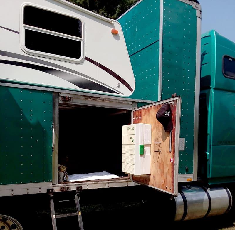 Volvo 670 Conversion Storage First Aid Kit