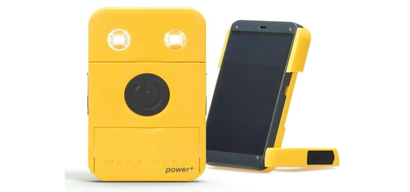 WakaWaka Power+ solar-powered flashlight and charger