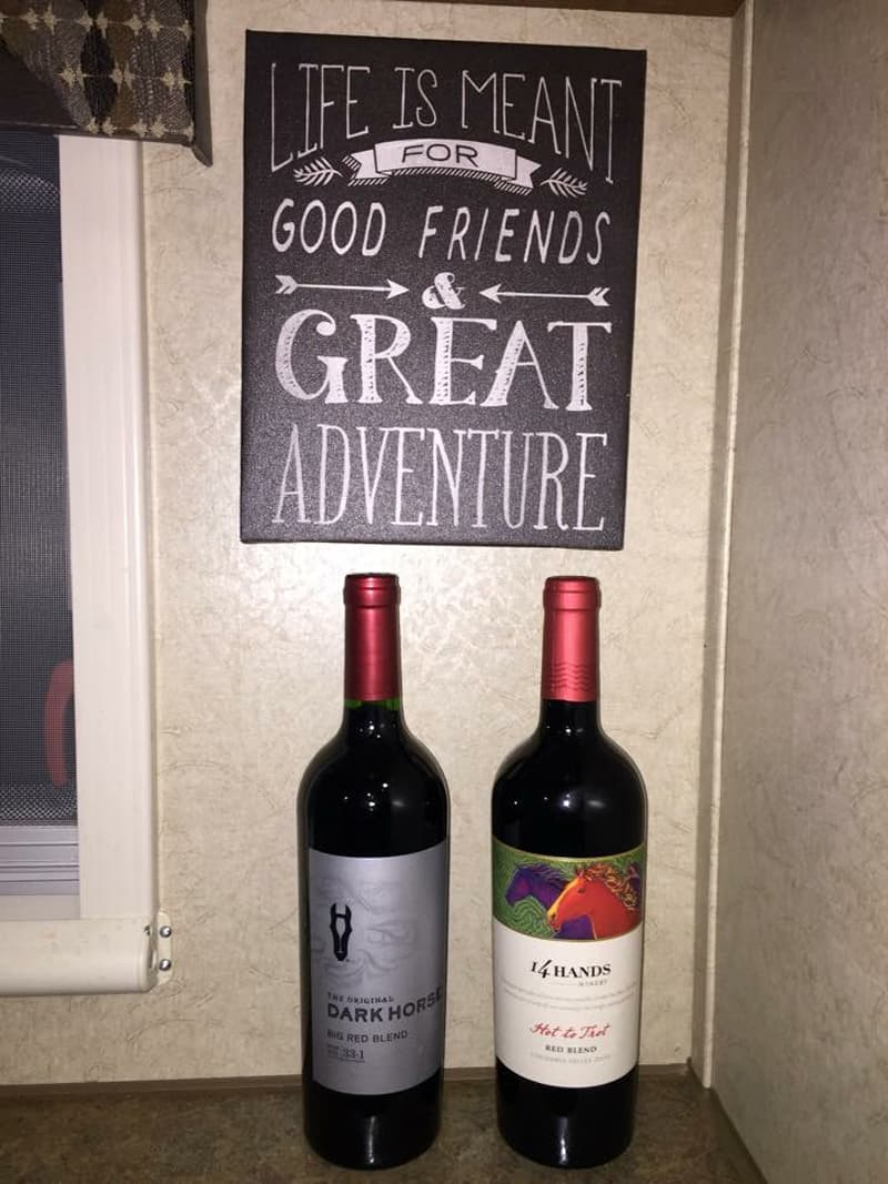 Life Was Meant for Adventures, Wine, and Good Friends