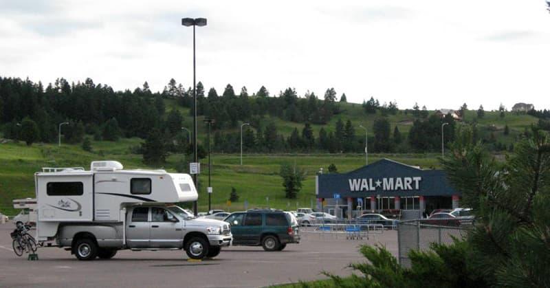 Walmart-Camping-Polson-Montana
