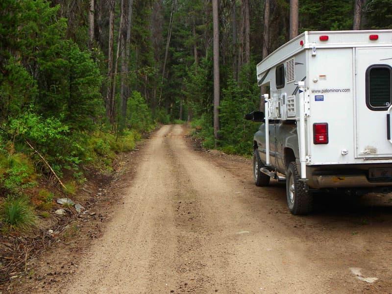 Warren to Big Creek Road in Idaho