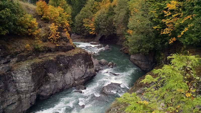 River in Washington State