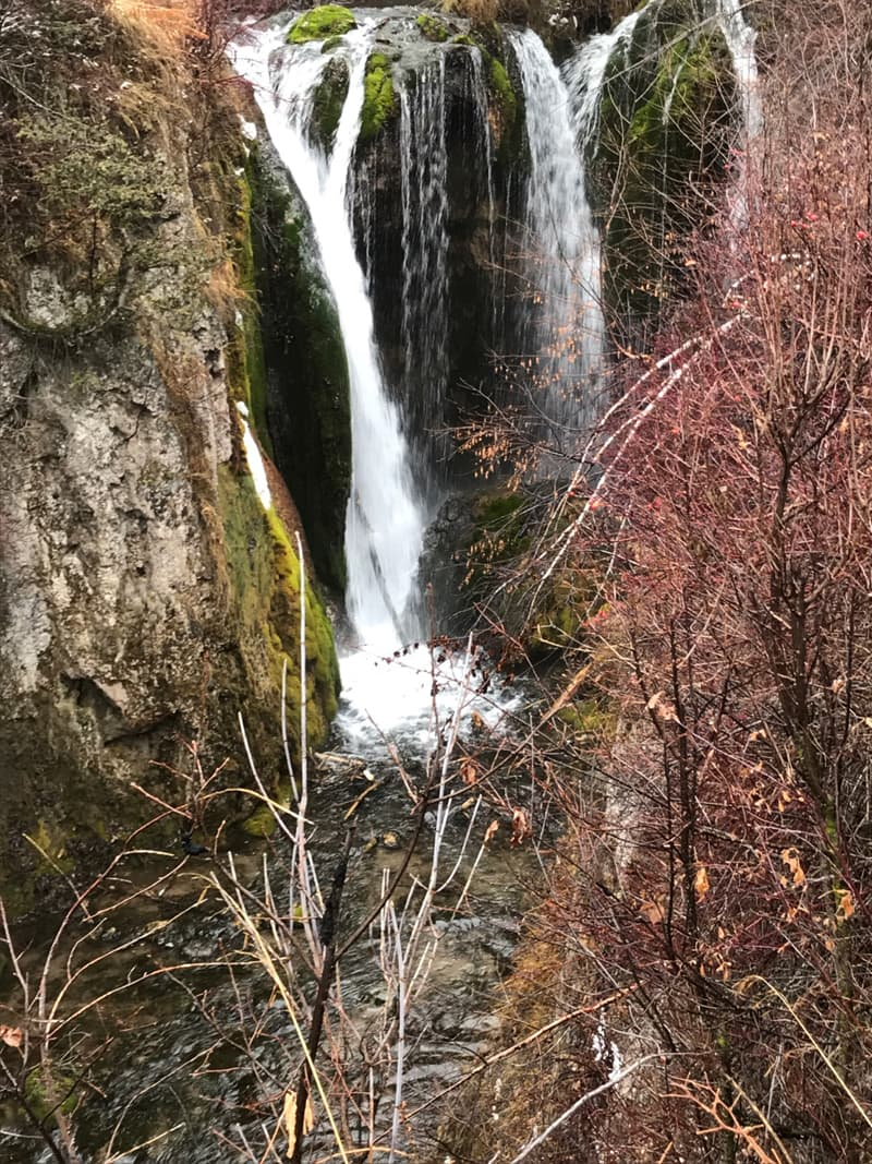 Waterfall In Spearfish Canyon