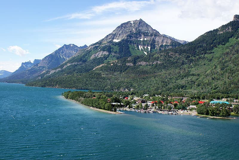 Canada, Waterton Lake boat tour