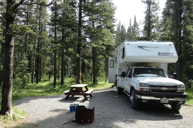 Watson Creek Provincial Recreation Area camping