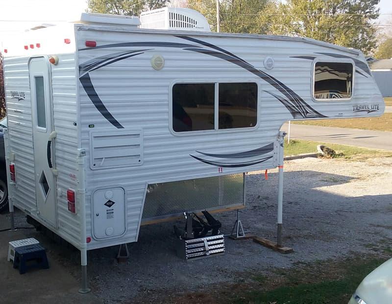 Stocked Travel Lite camper