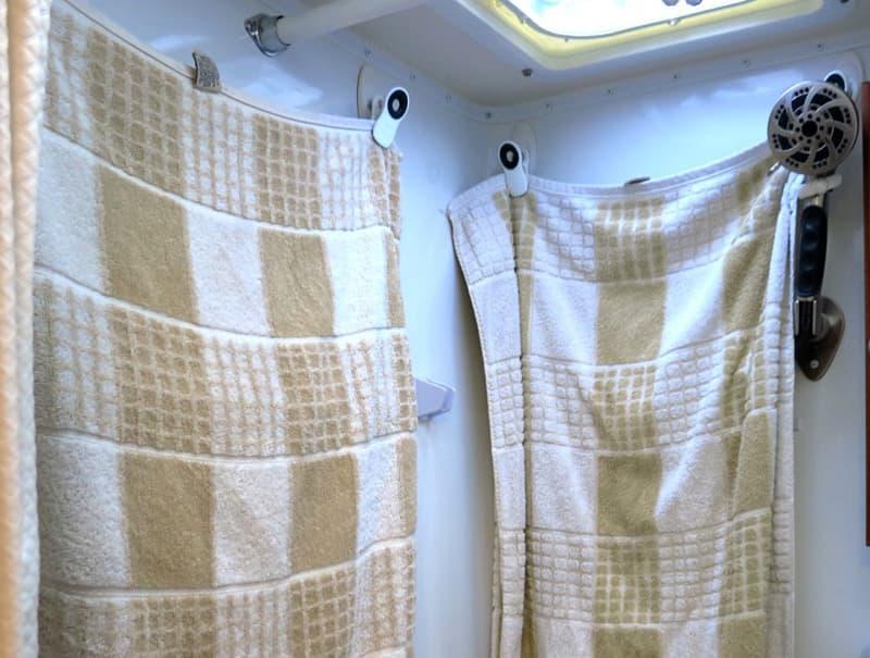 Wet Bath Camper Hooks For Towels