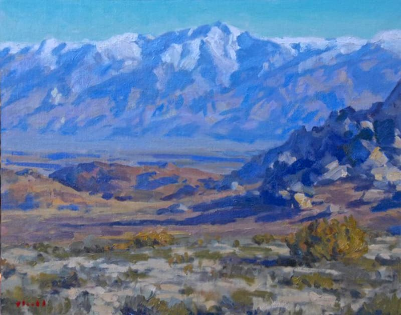 White Mountains 16x20 Painting