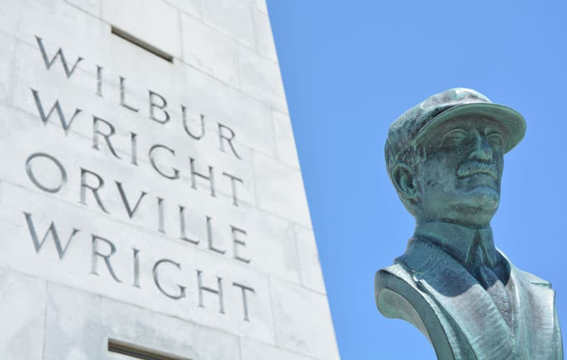 Wilbur And Orville Wright Memorial North Carolina