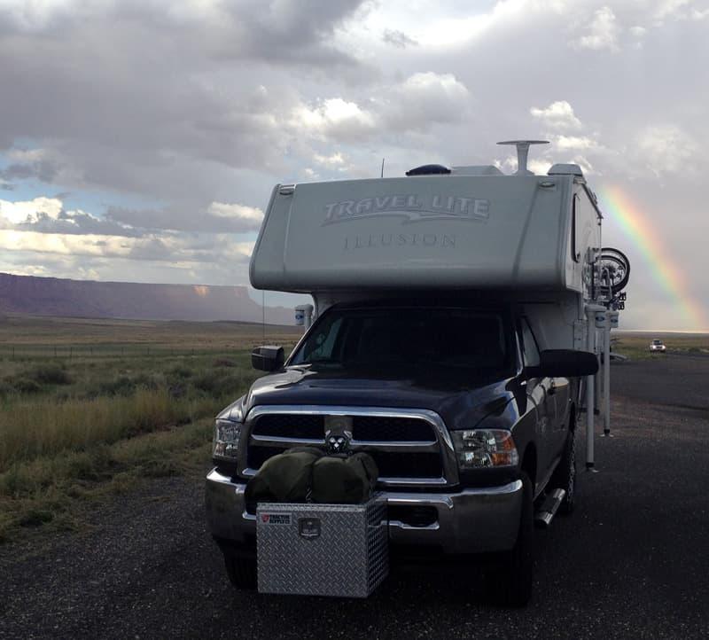 Paria-Plateau-rainbow Arizona