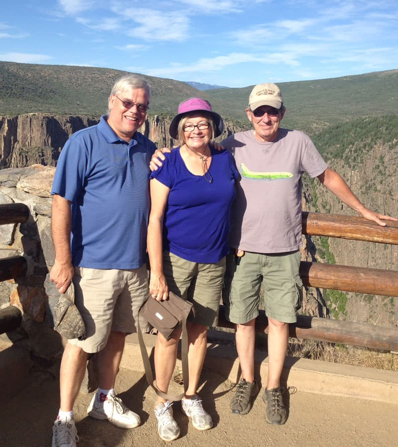 Colorado-black-canyon-Gunnison-brother