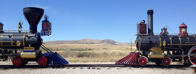 Promontory, Golden Spike National Historic Site, Utah
