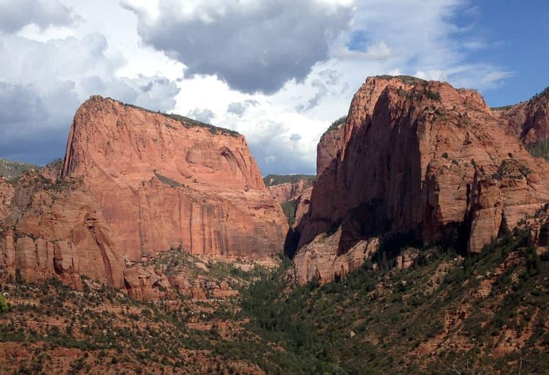 Utah-Zion-Kolob-Canyon