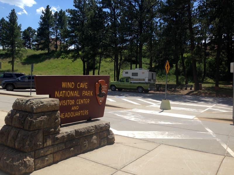 Wind Cave National Park Maple Leaf Camper