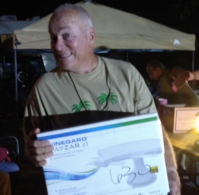 Winegard Rayzr antenna rally prize