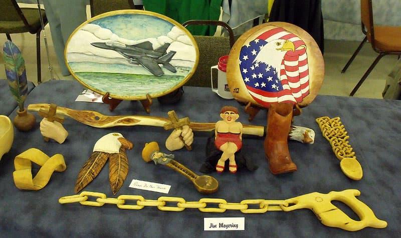 Winter Texan craft show