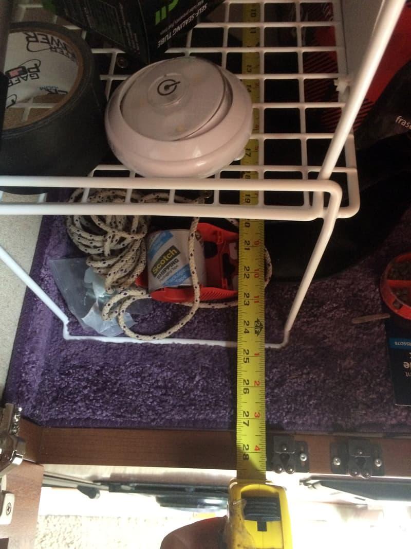 Wire Shelving Big Wardrobe 1