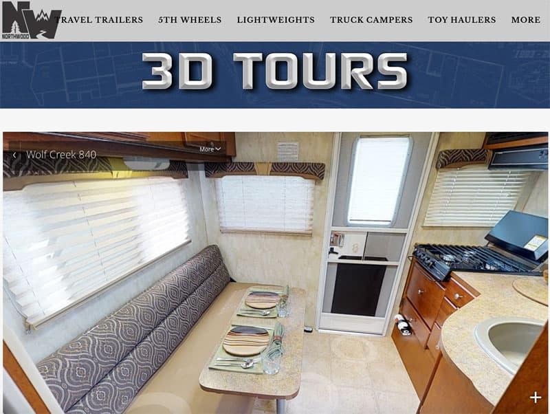 Wolf Creek 840 3D Tours