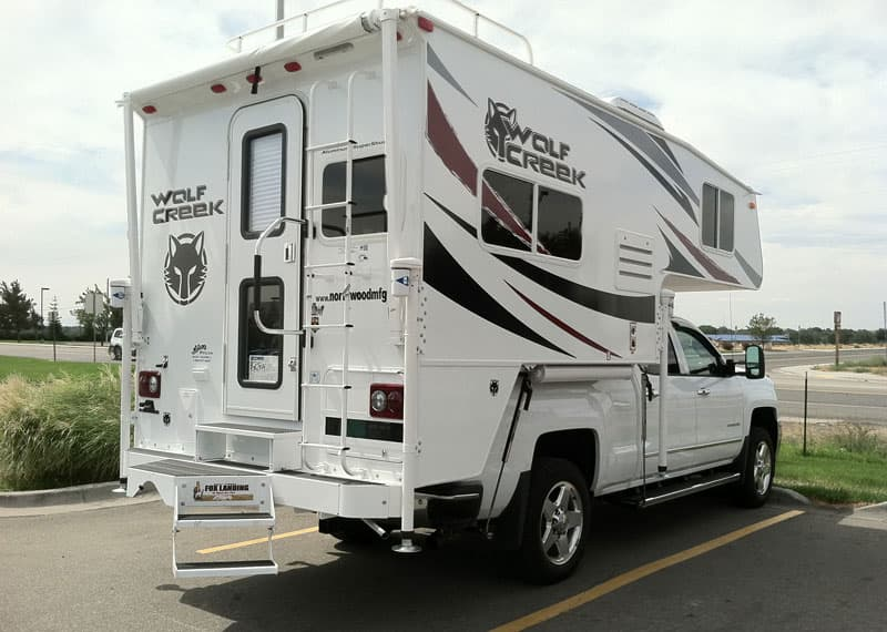 Wolf Creek Camper Montana Highway 43